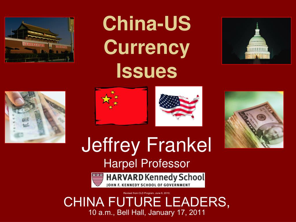 china us currency issues l.