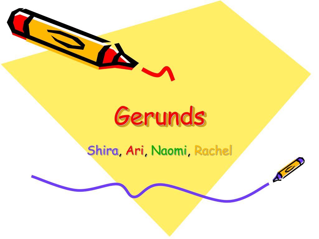 gerunds l.