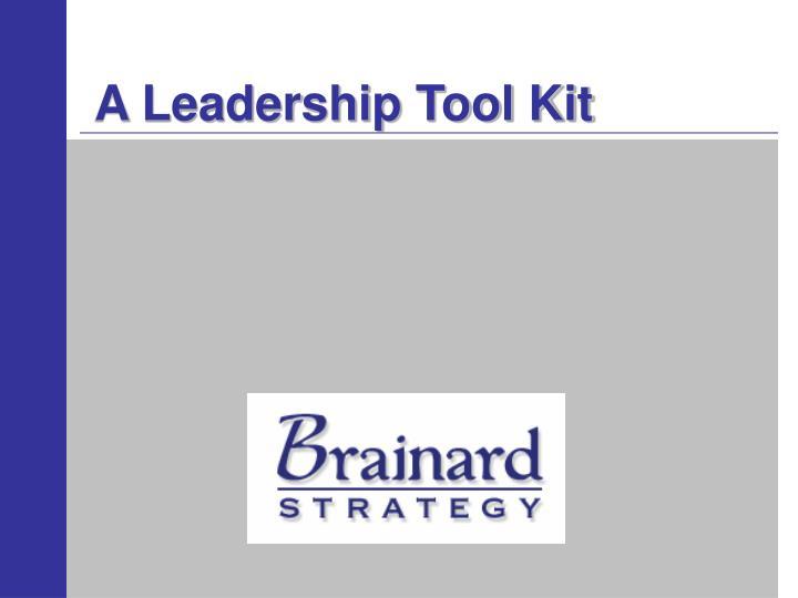 a leadership tool kit n.