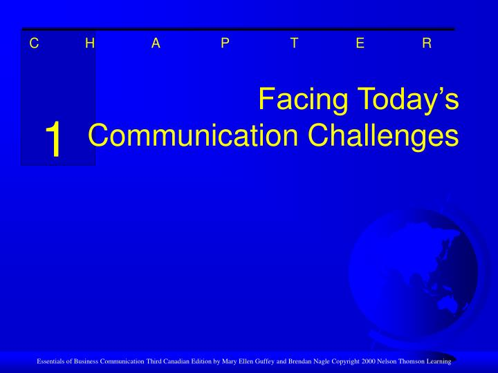 facing today s communication challenges n.