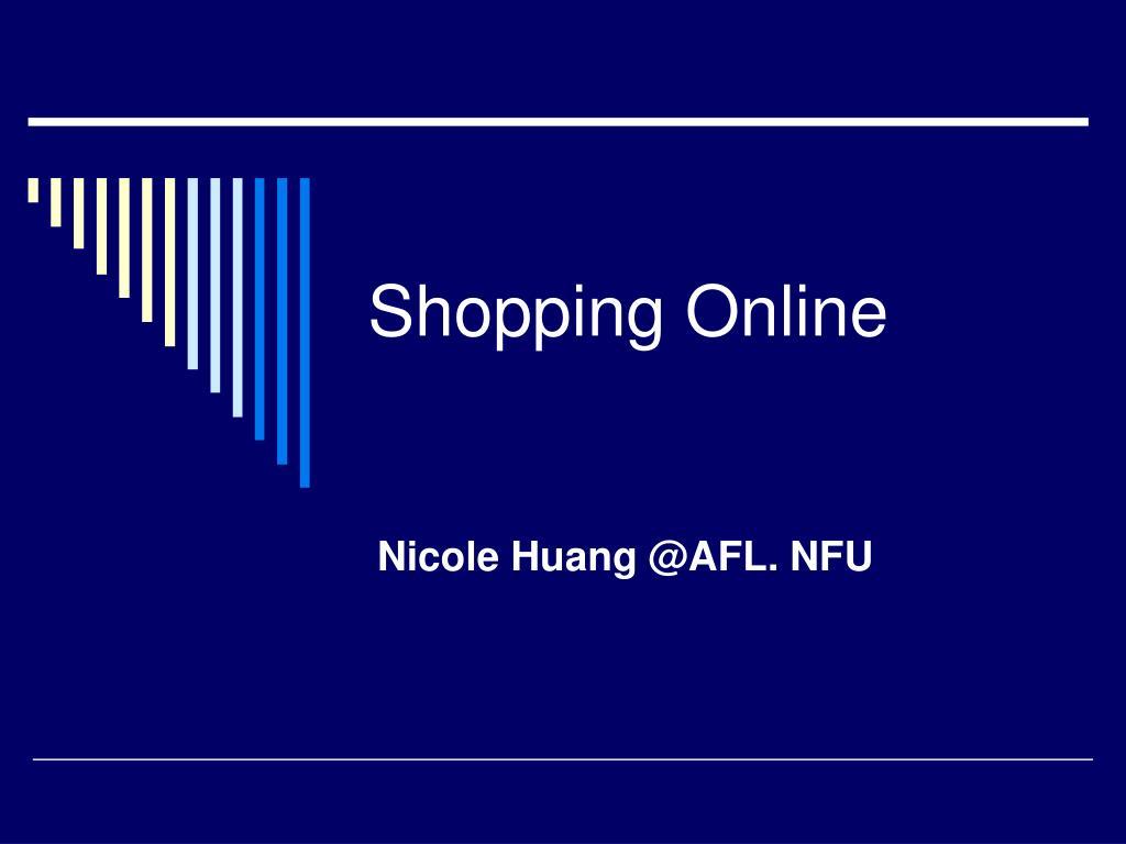 shopping online l.