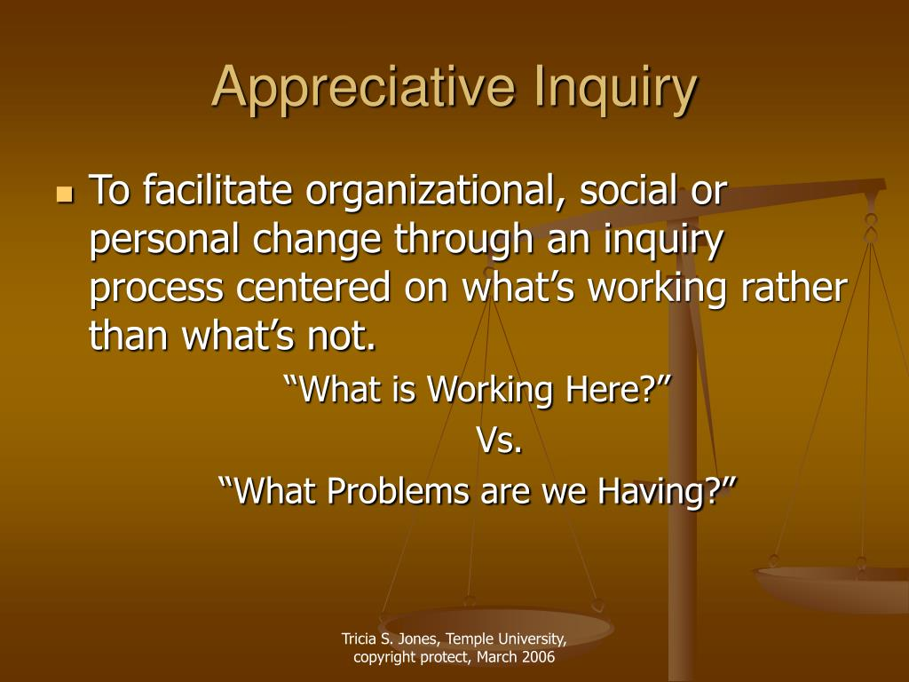 appreciative inquiry l.