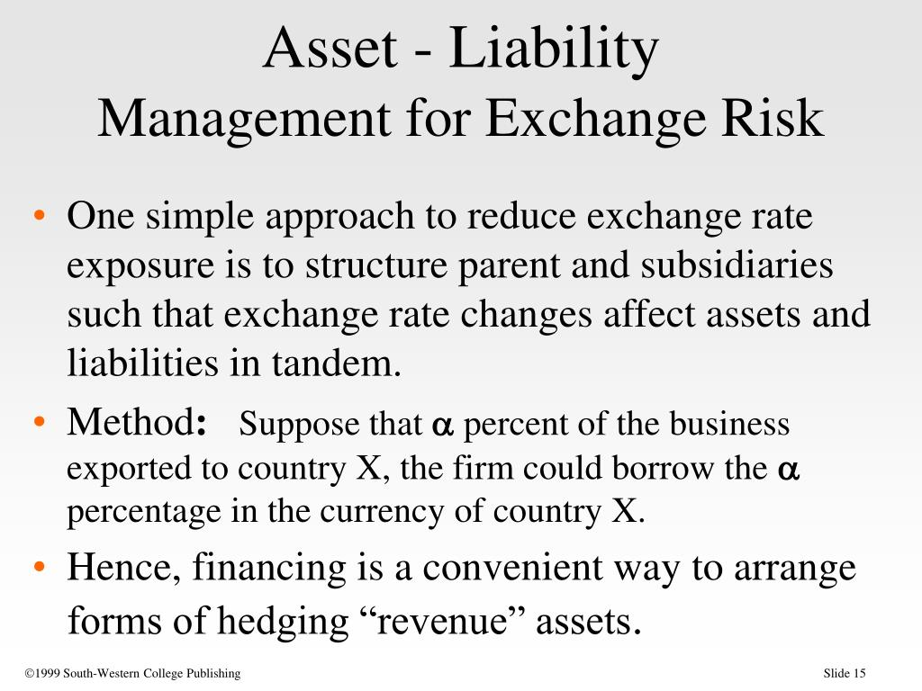 Asset - Liability