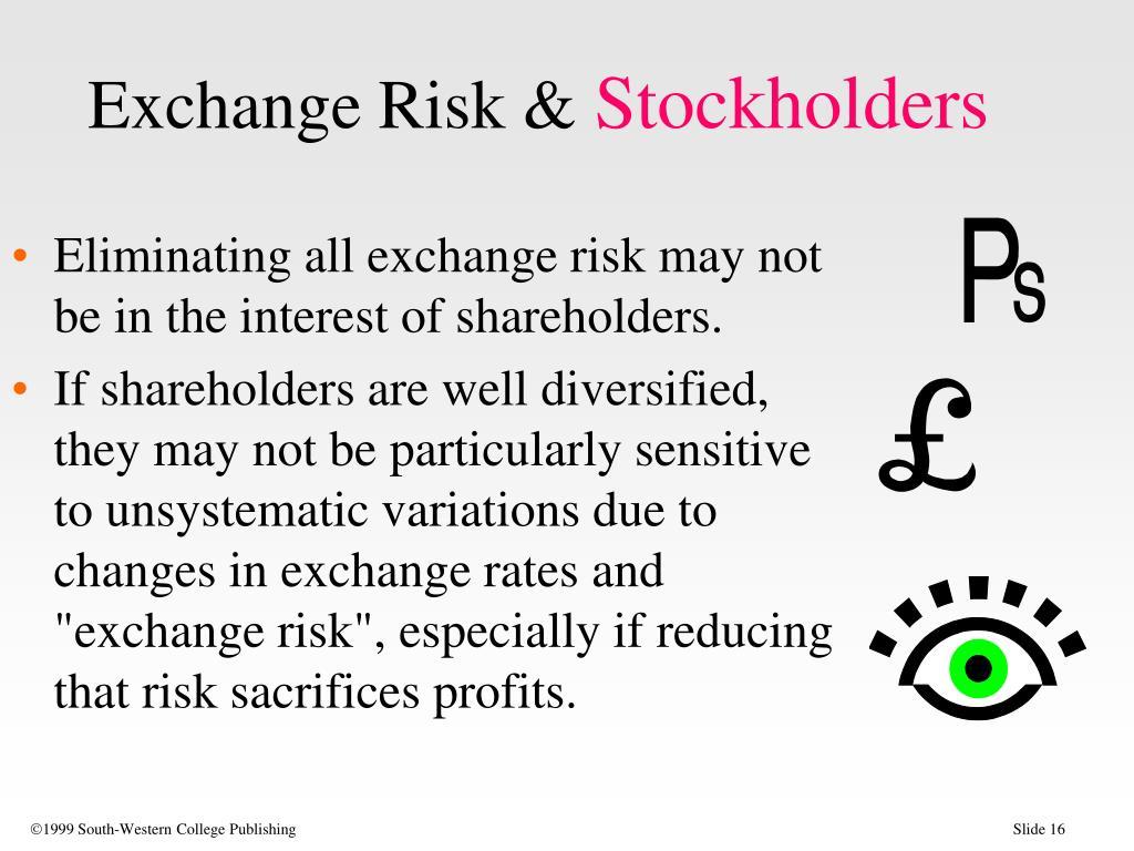 Exchange Risk &