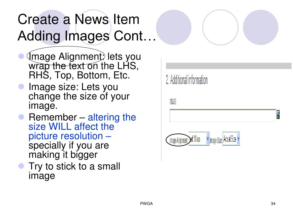 Create a News Item