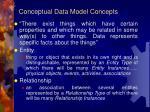 conceptual data model concepts