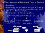 mapping one many relationship types to relations22