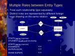 multiple roles between entity types