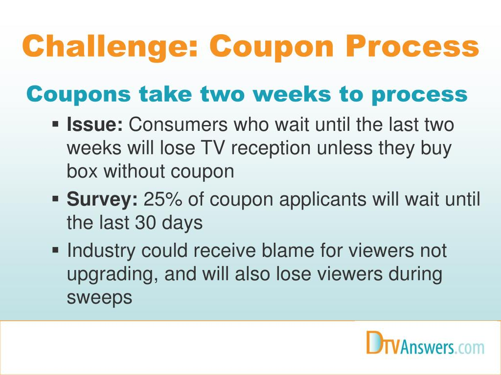 Challenge: Coupon Process