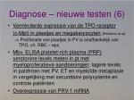 diagnose nieuwe testen 6