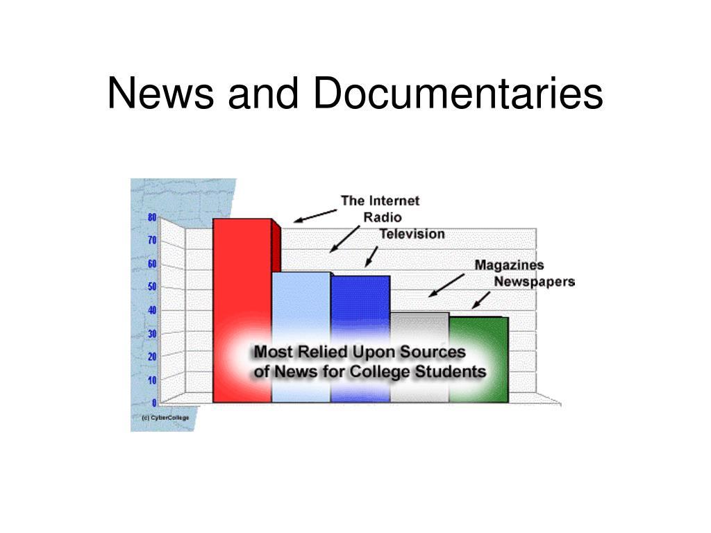 News and Documentaries