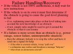 failure handling recovery