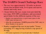 the darpa grand challenge race
