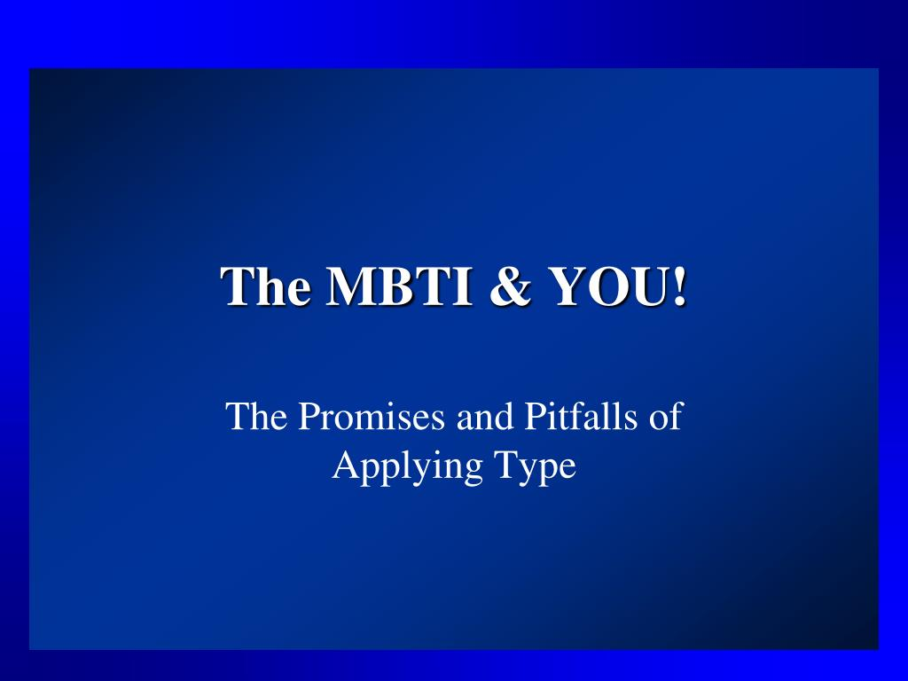 the mbti you l.