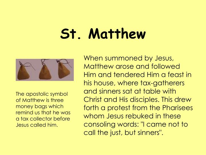 Ppt The Twelve Apostles Of Jesus Christ Powerpoint Presentation