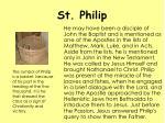 st philip