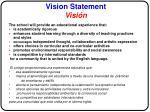 vision statement visi n