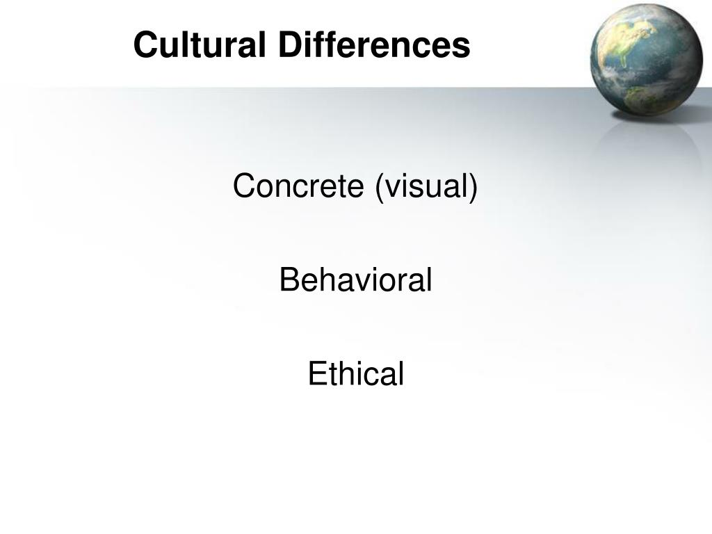 Cultural Differences