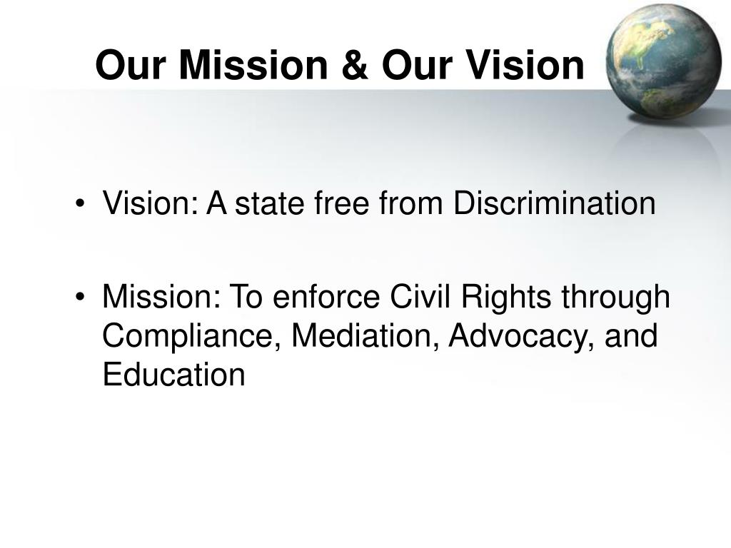 Our Mission & Our Vision