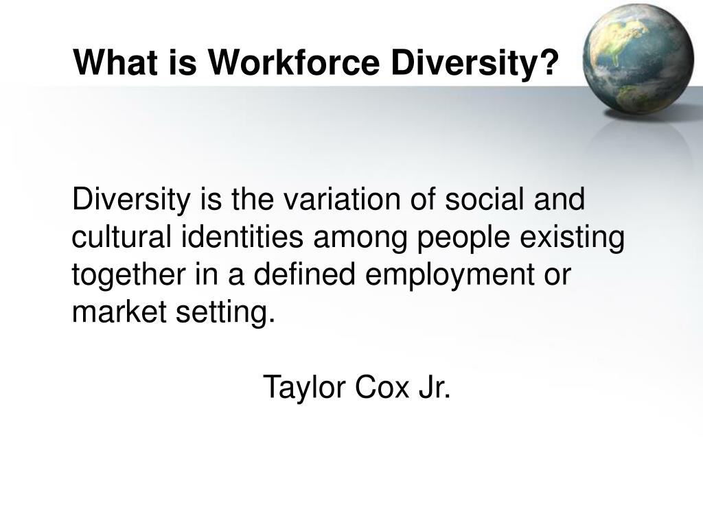 What is Workforce Diversity?