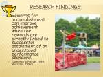 research findings1