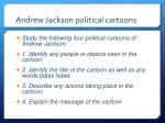 andrew jackson political cartoons