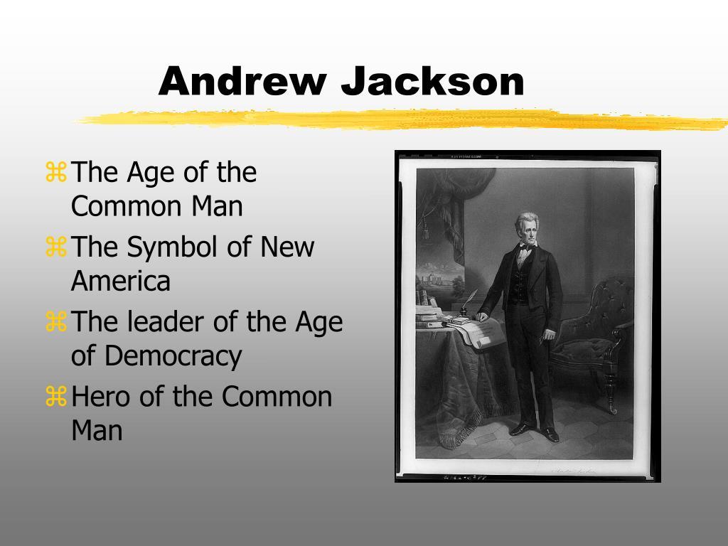 andrew jackson l.