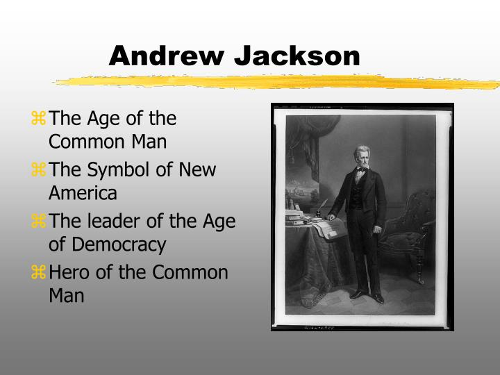 andrew jackson fought for the common people and true democracy During his presidency, andrew jackson is given credit for trying to represent the common man and expanding democracy throughout the federal government however, jackson's common man was actually a lower middle class white man from the southern parts of the united states.