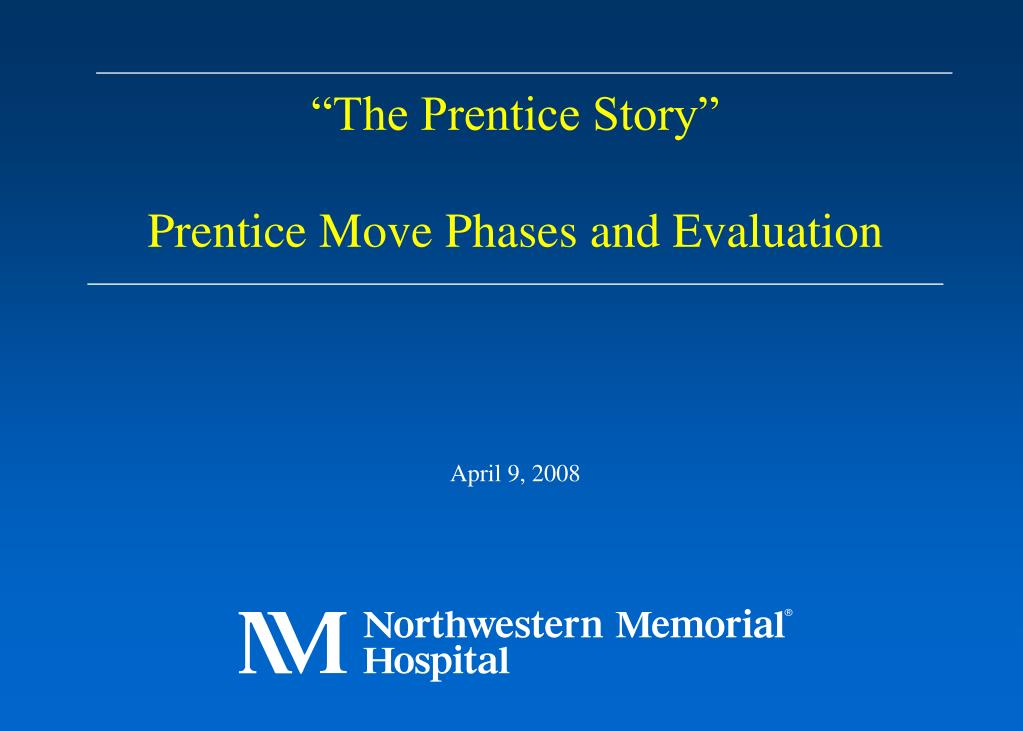 """The Prentice Story"""