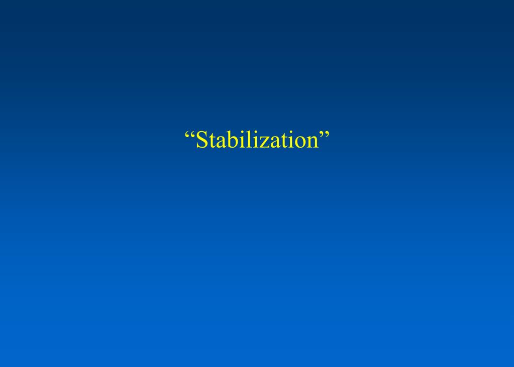 """Stabilization"""