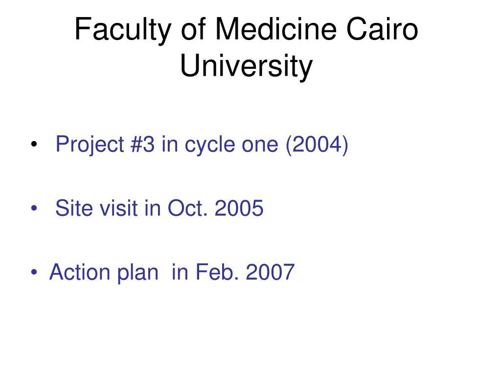 Faculty of Medicine Cairo University