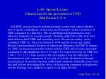 l 06 special lecture clinical trial for the prevention of cvd rm grimm u s a