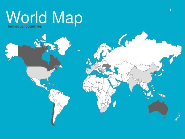 world map n.