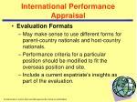 international performance appraisal36