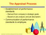 the appraisal process8