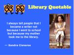 library quotable64