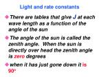 light and rate constants80