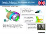 nacelles technology development at belfast collaborative uk programs10