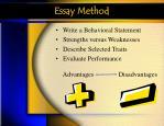 essay method43