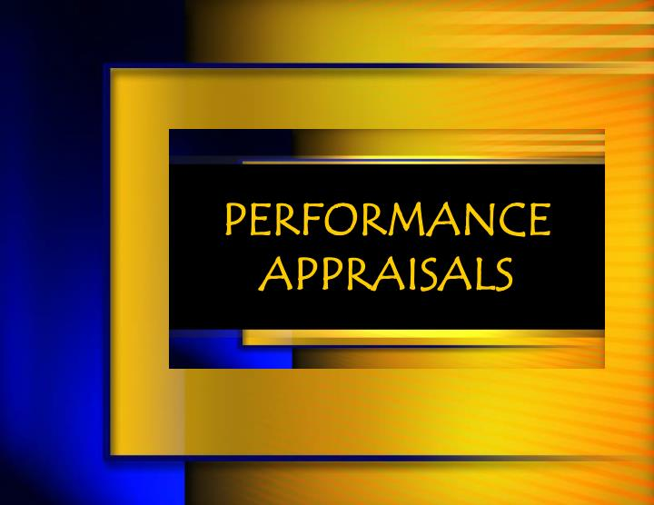 performance appraisals n.