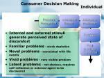 consumer decision making individual84