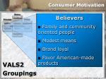 consumer motivation30
