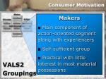 consumer motivation32