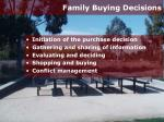 family buying decisions