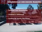 household decision making