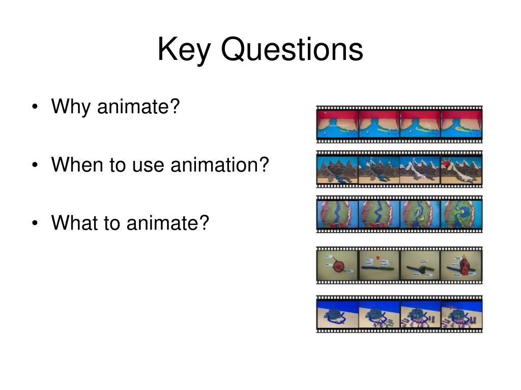 Why animate?