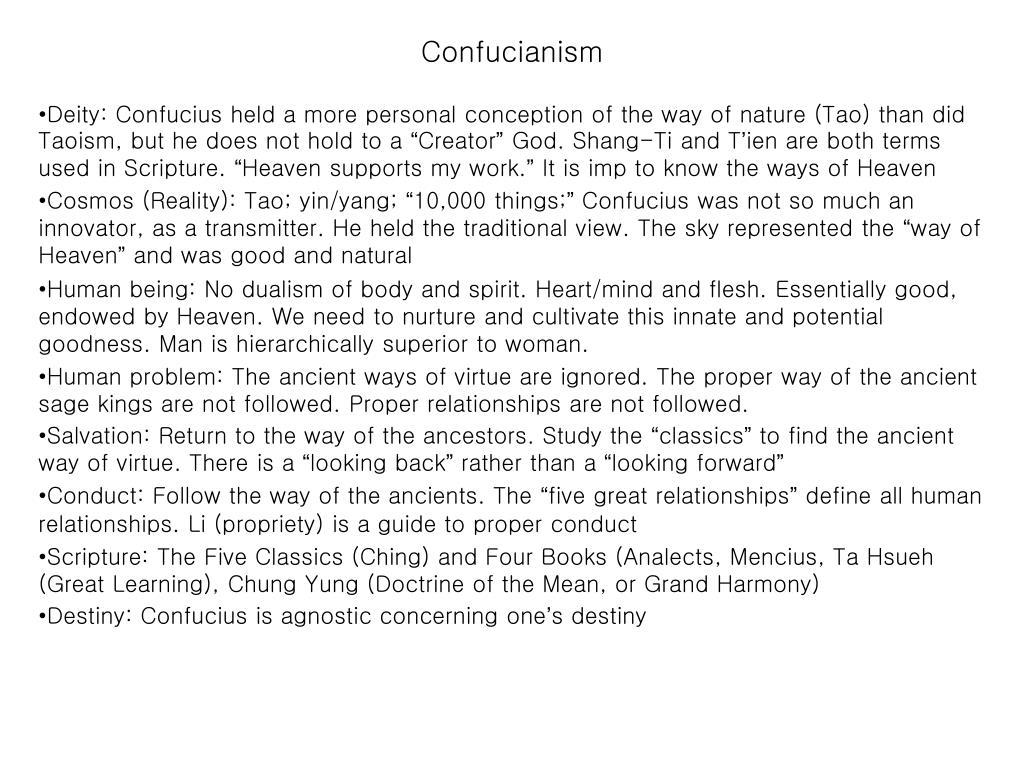 confucianism versus taoism