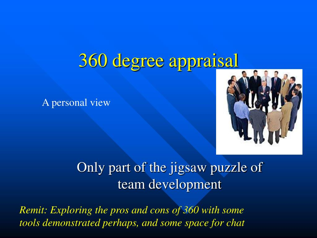 360 degree appraisal l.