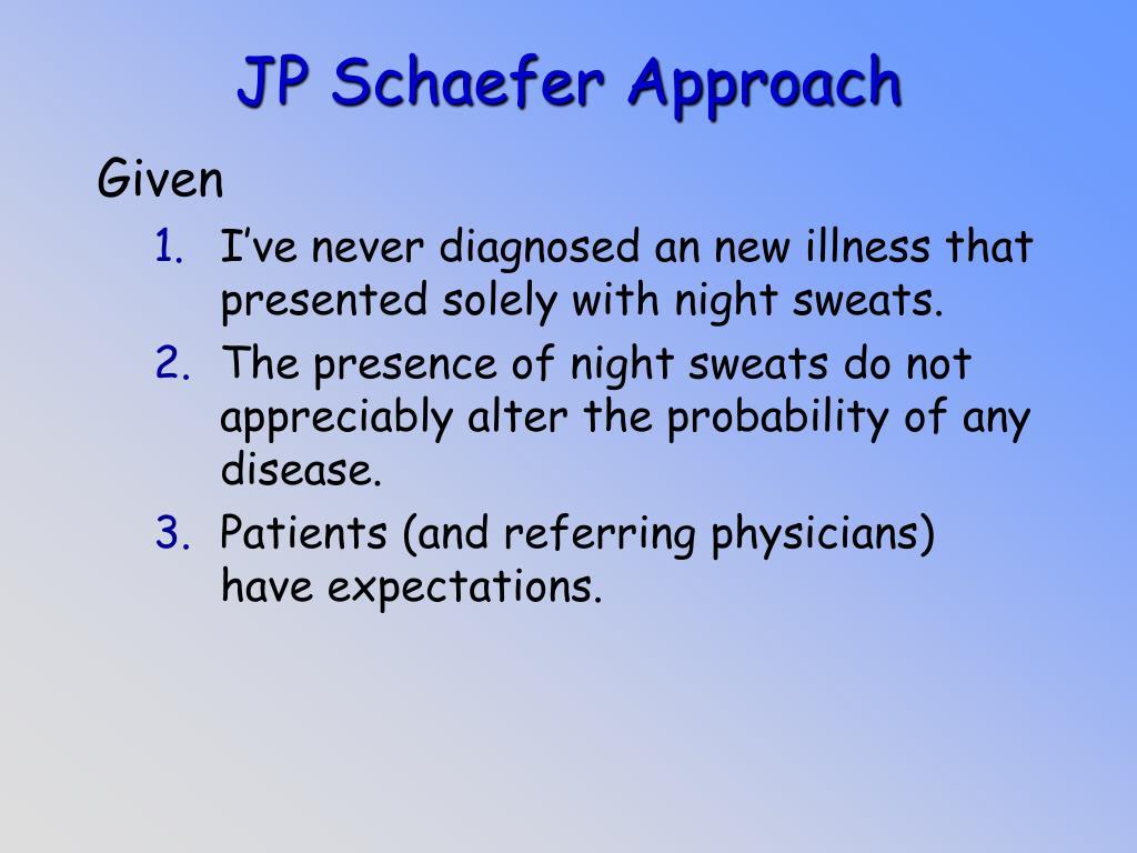 JP Schaefer Approach