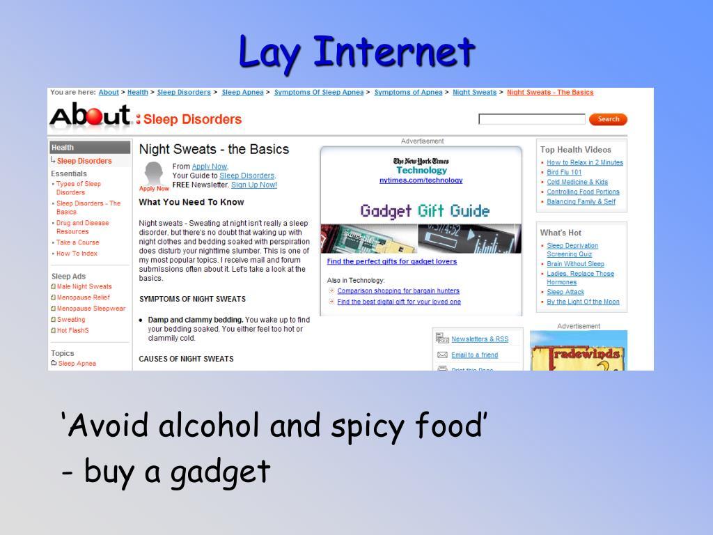 Lay Internet